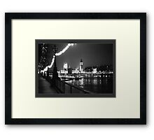 Houses of Parliament Framed Print