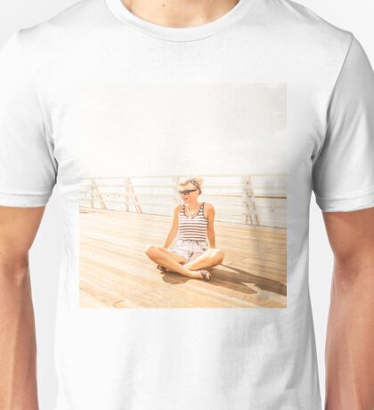 Peaceful Pin-Up Unisex T-Shirt