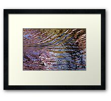 Chaotic patterns (2014) Framed Print