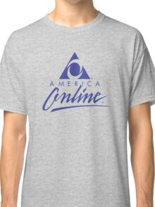 AOL America Online Urban Outfitters Dial-Up T-Shirt Classic T-Shirt
