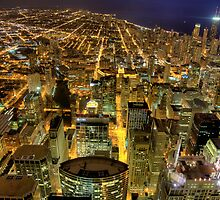 Looking North from Sears Tower. by delobbo