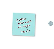Coffee - Milk with No Sugar by 2cimage