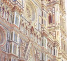 The Duomo in Florence, Italy Sticker