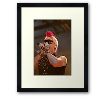 Thirty Seconds to Mars 01 Framed Print