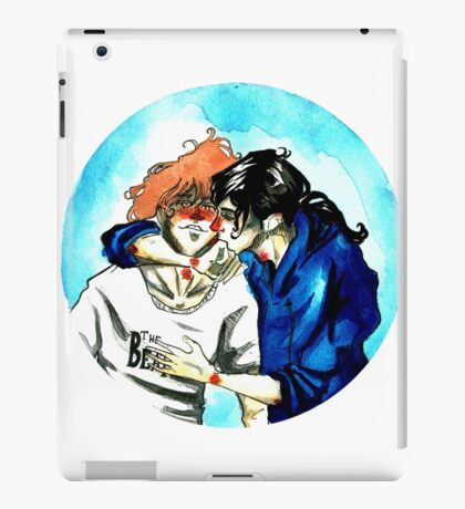 we promised the world we'd change it colour iPad Case/Skin