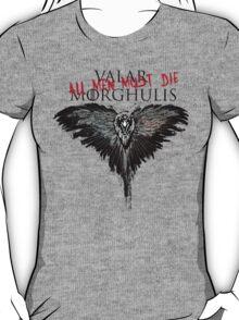 Valar Marghulis Crow shirt T-Shirt