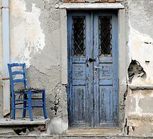 Blue Decay Santorini by gregw