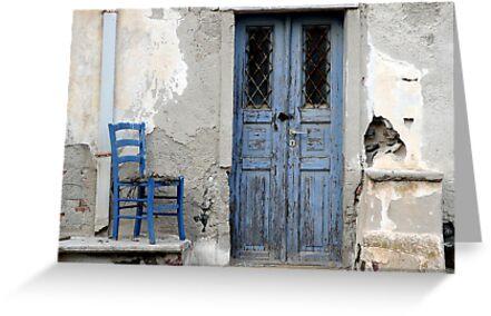 Blue Decay Santorini by gregw