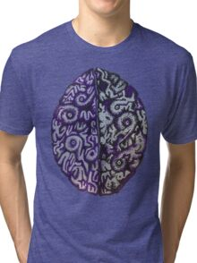 Purple Brains Tri-blend T-Shirt