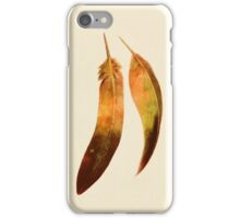 Gold Feathers  iPhone Case/Skin