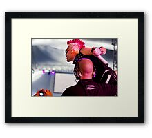 Thirty Seconds to Mars 03 Framed Print