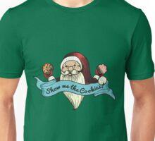 Santa show me the cookies funny Christmas t-shirt Unisex T-Shirt