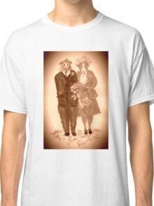 The Guinea Pig Wedding (Sepia) Classic T-Shirt