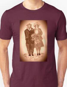 The Guinea Pig Wedding (Sepia) Unisex T-Shirt
