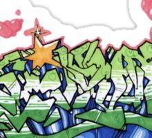 graff again Sticker