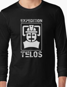 The Tomb of the Cybermen - Doctor Who - Patrick Troughton Long Sleeve T-Shirt