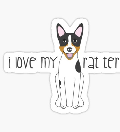 Rat Terrier Sticker