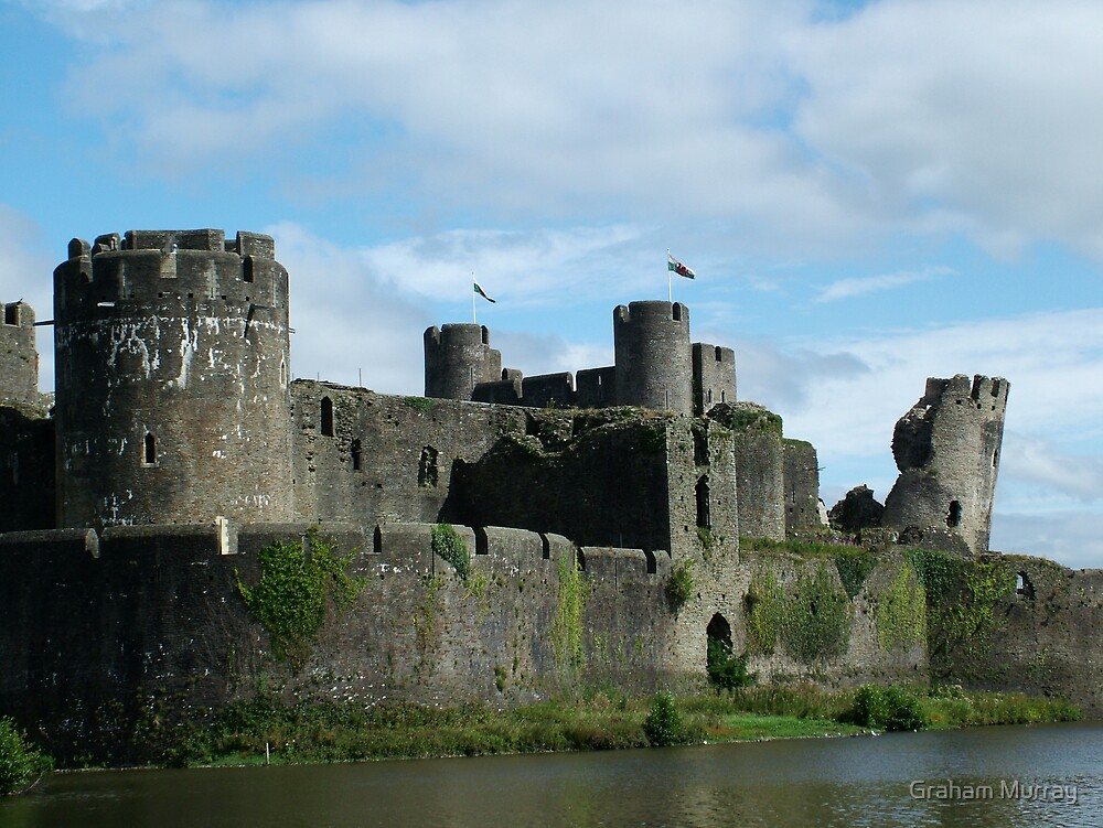 Caerphilly Castle by Graham Murray