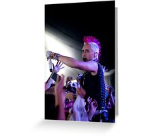Thirty Seconds to Mars 06 Greeting Card