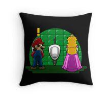 Ladies´ Room Throw Pillow