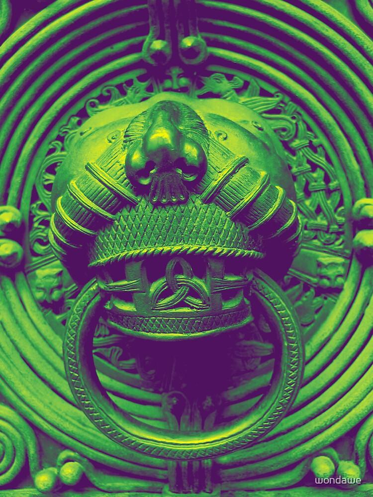 Doorknock Mandala by wondawe