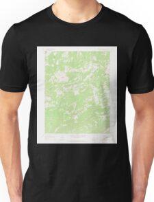 USGS TOPO Map Colorado CO Groundhog Mountain 450938 1964 24000 Unisex T-Shirt