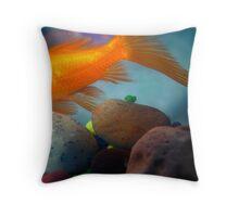 FishSwish Throw Pillow