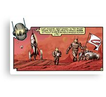 Iron Ghost - Mars Surface Canvas Print