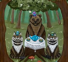 A Forest Tea Party by Ryan Conners