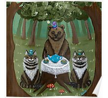 A Forest Tea Party Poster