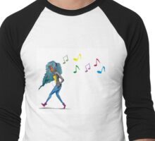 Lost in the Music Men's Baseball ¾ T-Shirt
