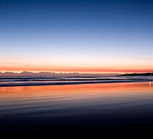 Byron Bay sunrise by Evan Malcolm
