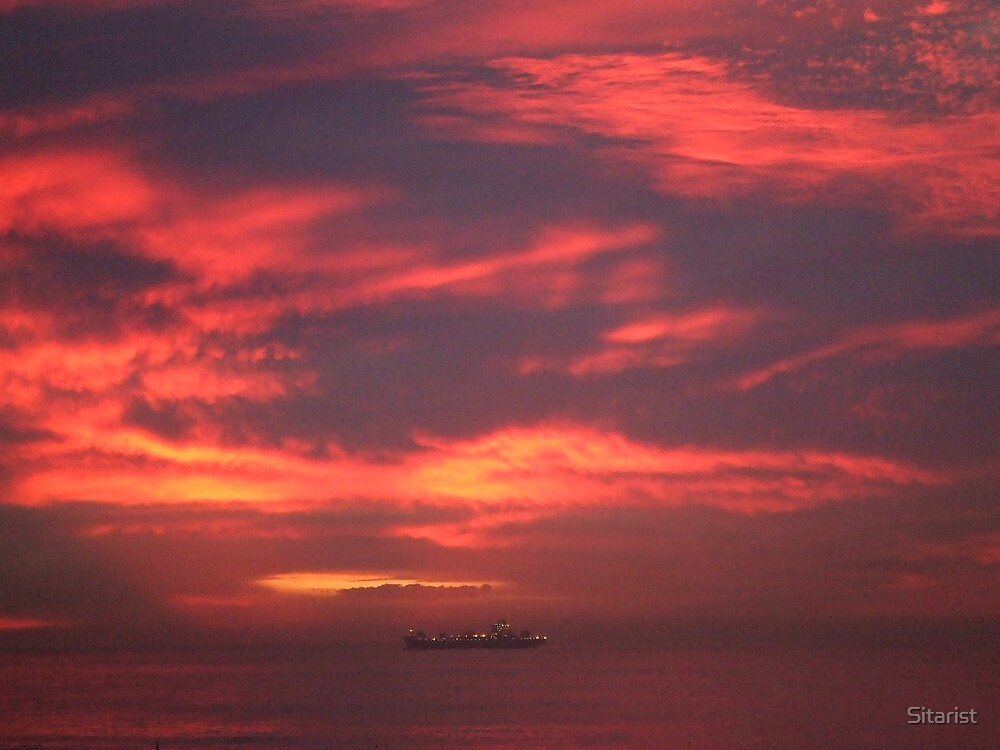 Red Hot Sky by Sitarist
