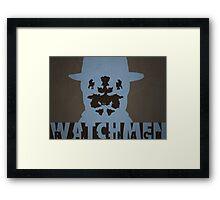 Watchmen - Rorscach Framed Print