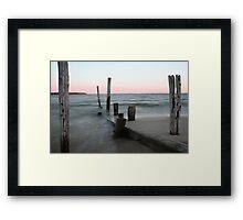 Beach V Framed Print