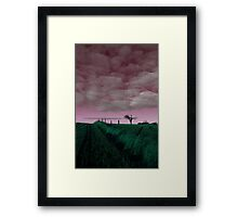 The Rihanna Tree, In The Pink! Framed Print