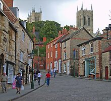 Lincoln from Steep Hill by Tanya Housham