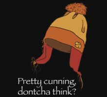 pretty cunning dontcha think? - black by Jemina Venter