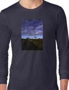 Rihanna Tree, The Blues! Long Sleeve T-Shirt
