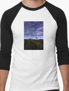 The Rihanna Tree, The Blues! Men's Baseball ¾ T-Shirt