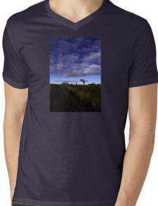 Rihanna Tree, The Blues! Mens V-Neck T-Shirt