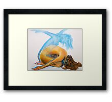 spirit body and mind  Framed Print