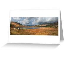 Burmoor Tarn Lake District Cumbria Greeting Card