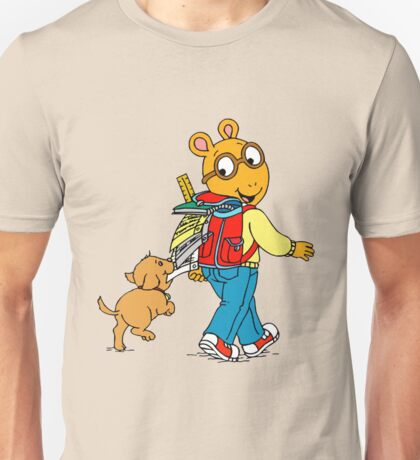 arthur and dog Unisex T-Shirt