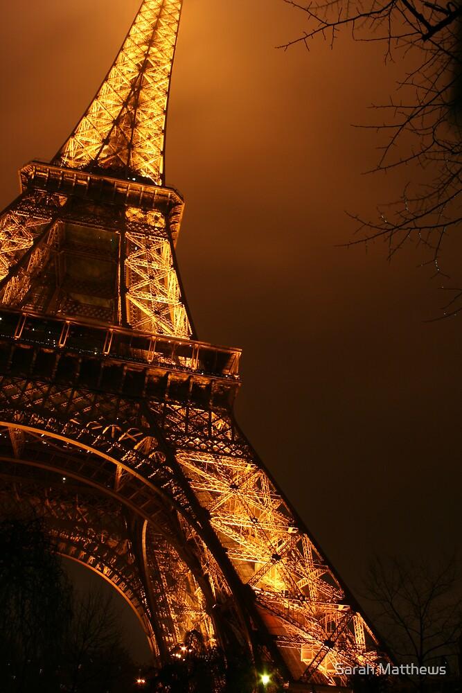 The Eiffel Tower by Sarah Matthews