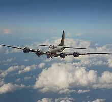 B17- 8th Air Force  Workhorse by Pat Speirs