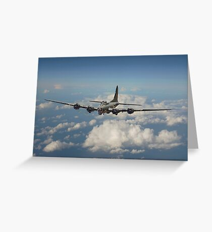 B17- 8th Air Force  Workhorse Greeting Card