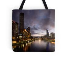 Yarra River by night Tote Bag