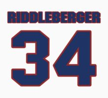 National baseball player Denny Riddleberger jersey 34 by imsport