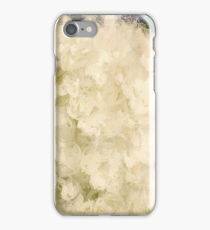 White Hydrangeas iPhone Case/Skin